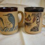Vintage Birdy Mugs