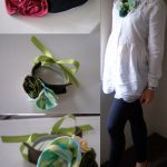 Ribbons, Roses, Beads & Flowers – Bib Necklace