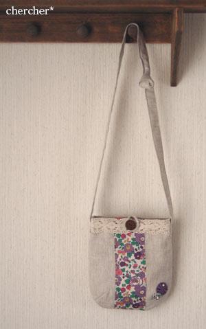 Linen & Lace Bag by chercher*