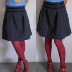 Failed! Burdastyle Michelle skirt in grey wool