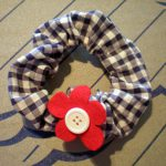 Easy Step by Step Hair Scrunchie Tutorial & Pattern with Photos