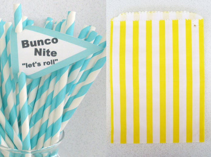 Etsy wedding lolly candy party bags paper straws