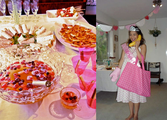1950s housewife stepford wives theme party costume and food