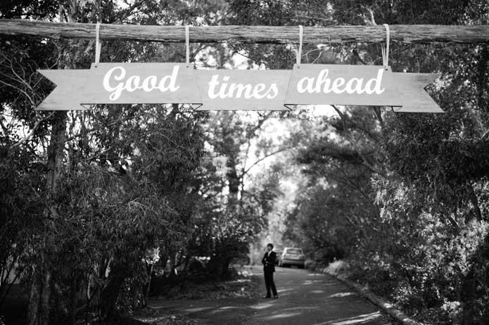 Vintage handmade wedding rustic wooden welcome sign