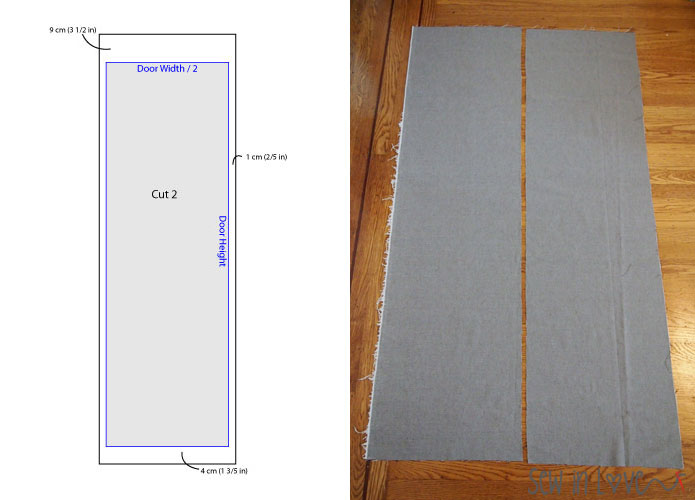 How To Make Noren Japanese Room Divider Partition