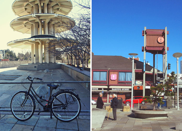 Japantown San Francisco Bike