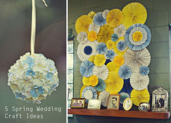 Craft Wedding Gifts: 春のウェディング手作り