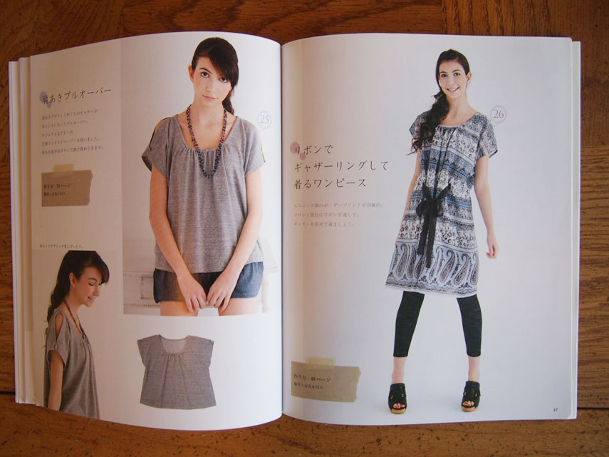 Japanese-sewing-book-summer-一日でできちゃう夏服6