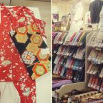 Vintage kimono shopping in Tokyo – 東京で買ったリサイクル着物