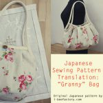 Guest post: Free tote bag sewing pattern & tutorial – グラニーバッグ