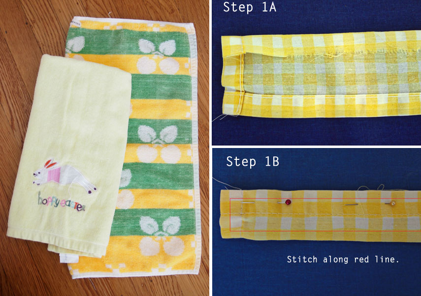 How-to-sew-hand-towel-apron-tutorial-Step-1