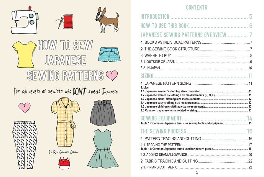 How-to-sew-Japanese-sewing-paterns-ebook-Preview-1