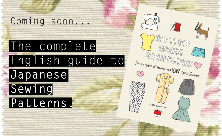 How to sew Japanese sewing patterns in English