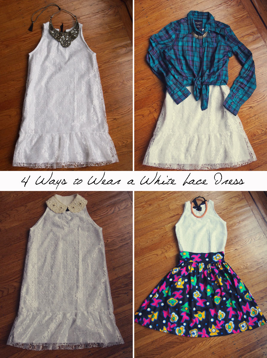 How-to-wear-white-lace-dress