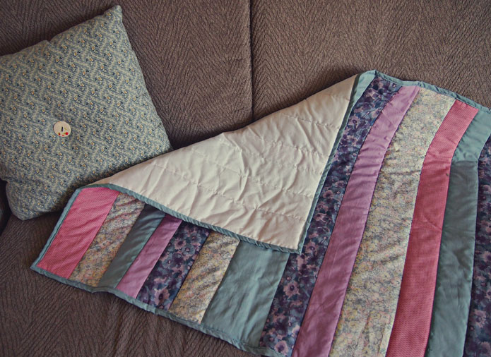 Easy quilt in a day for beginners: Quilt as you go! - Sew in Love : quilting beginners - Adamdwight.com