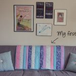 Easy quilt in a day for beginners: Quilt as you go!