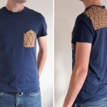 Mens T-shirt DIY – Upside Down Pocket