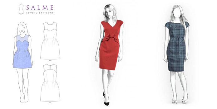Shift-dress-for-work-sewing-patterns-online