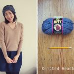 Free knitted headband pattern: Anthropologie inspired!