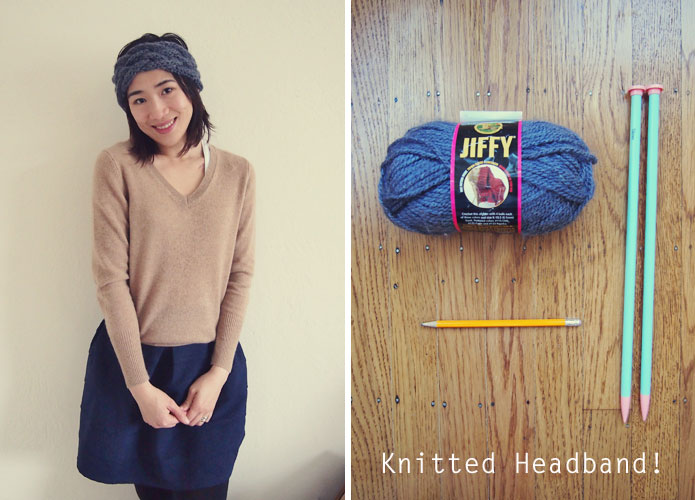 Free Knitted Headband Pattern Anthropologie Inspired Sew In Love