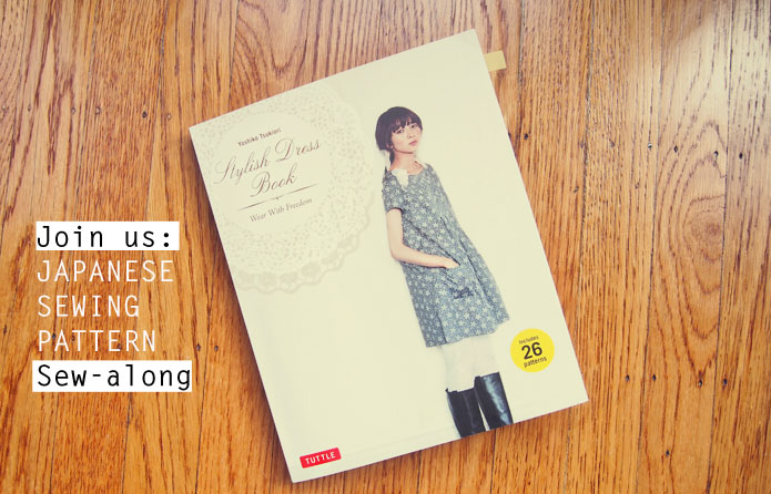 Japanese-Sewing-Pattern-Stylish-Dress-Book-Sew-Along-Cover