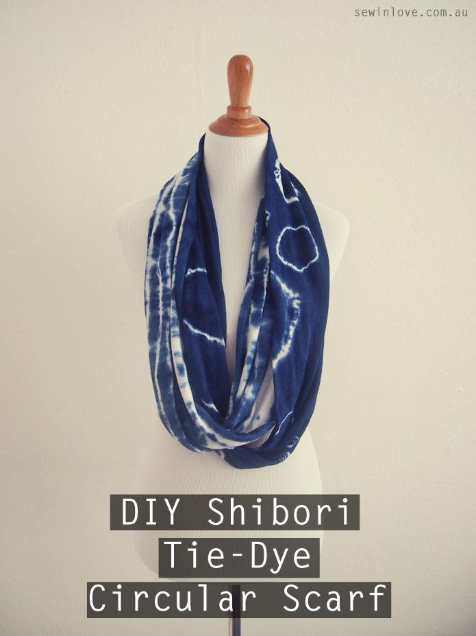 Shibori-Tie-Dye-Circular-Scarf-Pinterest
