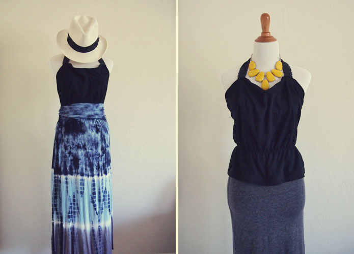 DIY-Tshirt-to-Cute-Halter-Top-Refashion-1