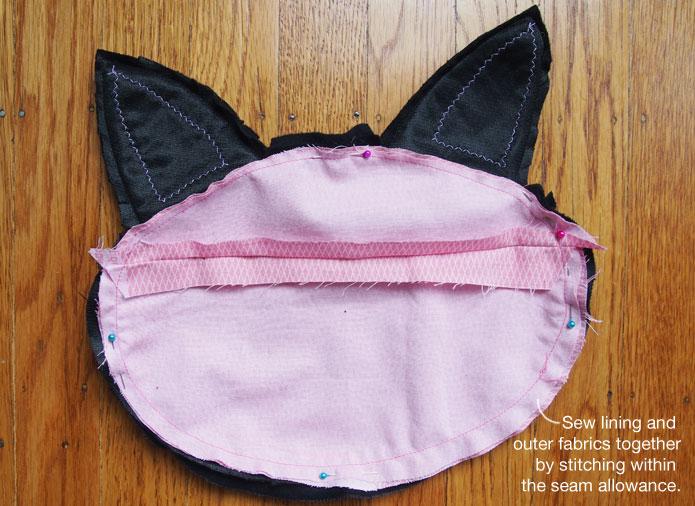 Ghibli-jiji-cat-purse-sewing-pattern-attach-lining