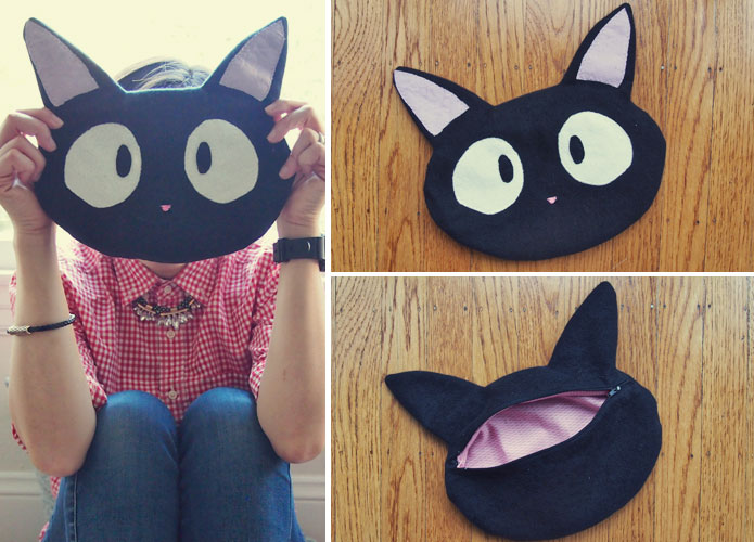 Free Sewing Pattern: Studio Ghibli Kiki\'s Delivery Service Jiji Cat ...