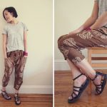 Japanese Sewing Pattern: Harem Pants from Happy Homemade Sew Chic