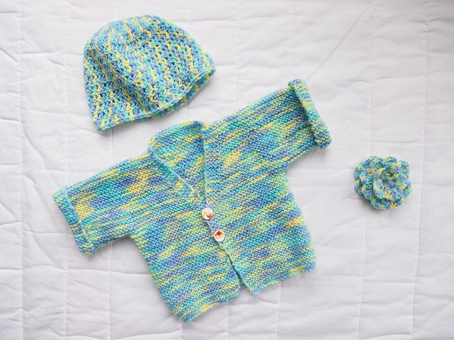 Simple Baby Cardigan Knitting Pattern : Tried and Tested: Free baby knitting and crochet patterns for beginners - Sew...