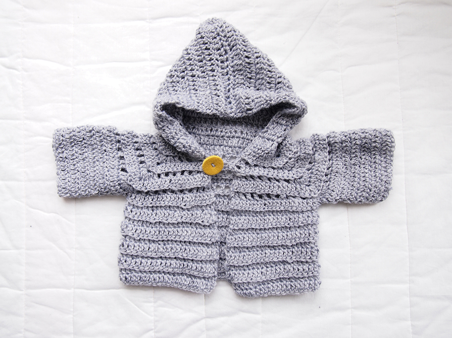 Easy Crochet Baby Sweater Pattern Free : Tried and Tested: Free baby knitting and crochet patterns ...