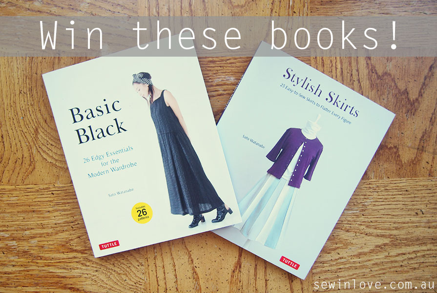 Sewing Pattern Giveaway! Win 2 Japanese Sewing Books: Basic Black ...