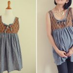 Cute Maternity and Nursing Babydoll Top – Japanese Sewing Pattern