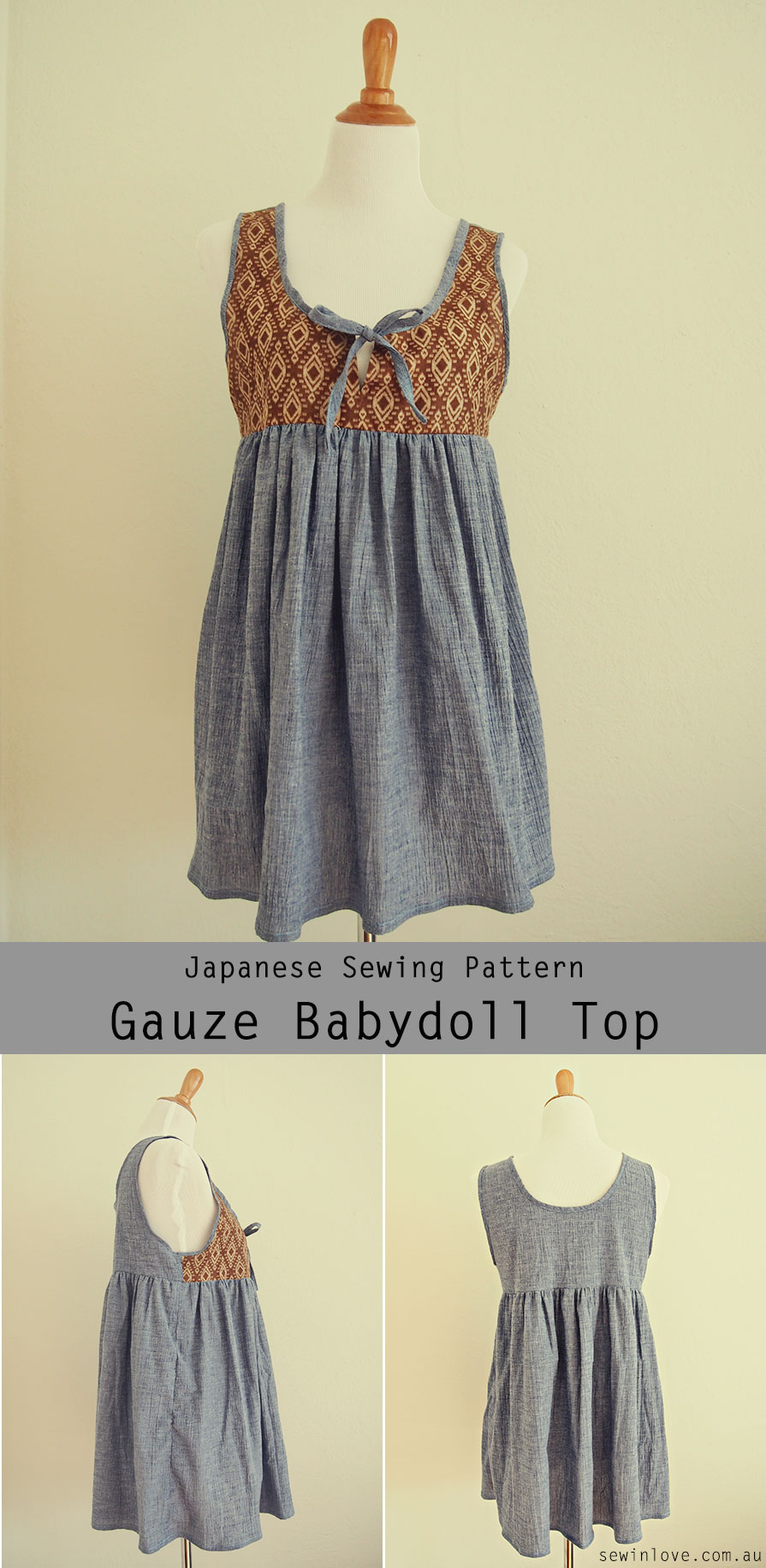 Babydoll-maternity-nursint-top-sewing-pattern-Japanese_Pinterest