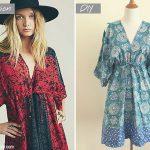Free Sewing Pattern & Tutorial: Free People inspired summer dress