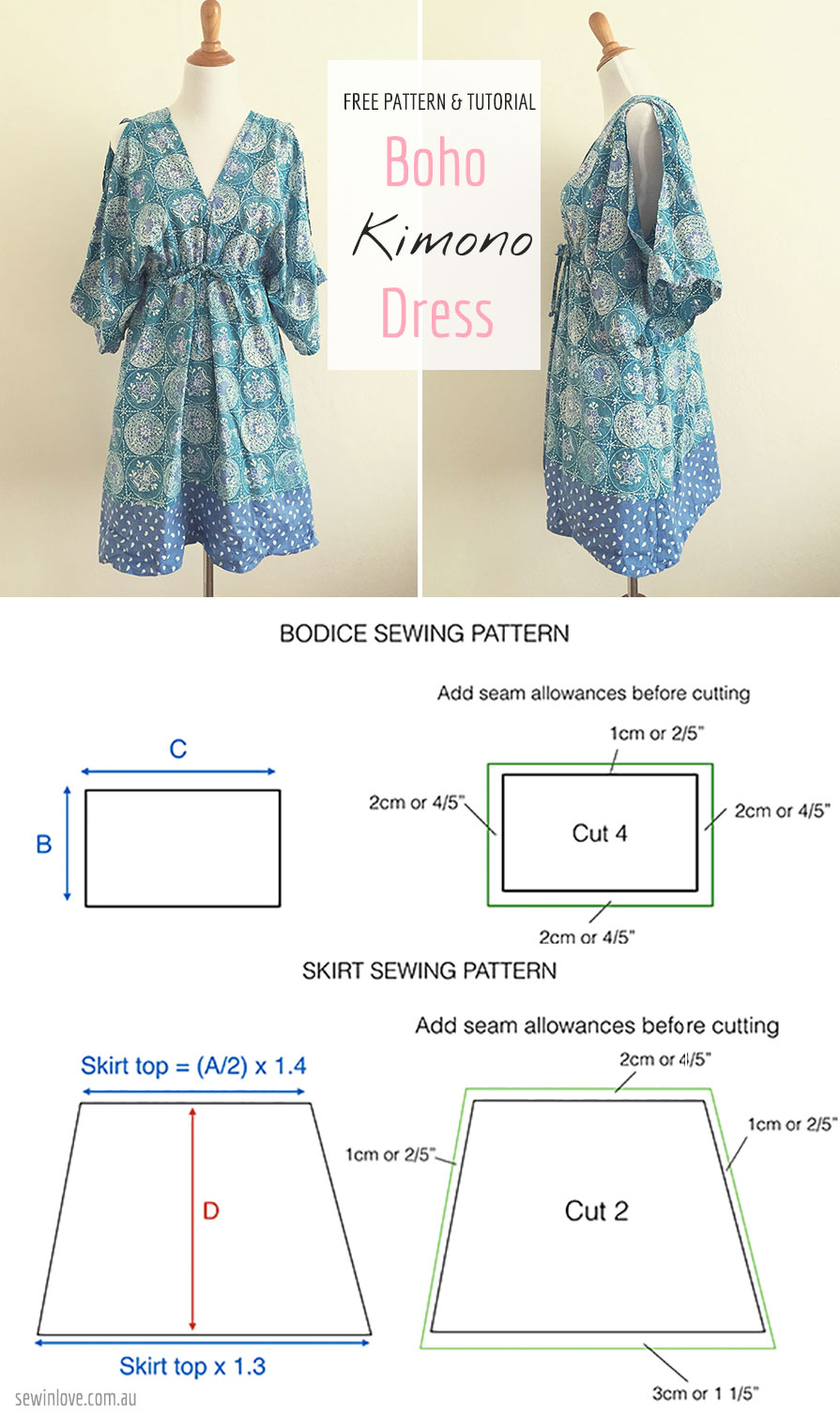 Summer maternity dress patterns