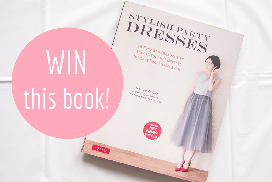 Win your very own copy of Stylish Party Dresses. Visit Sew in Love to enter!