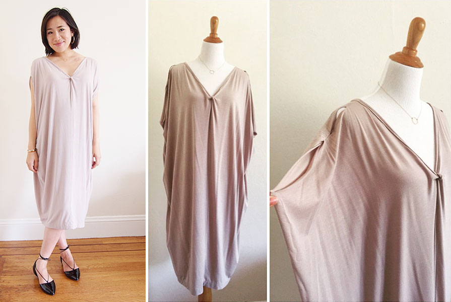 DIY Cocoon Dress
