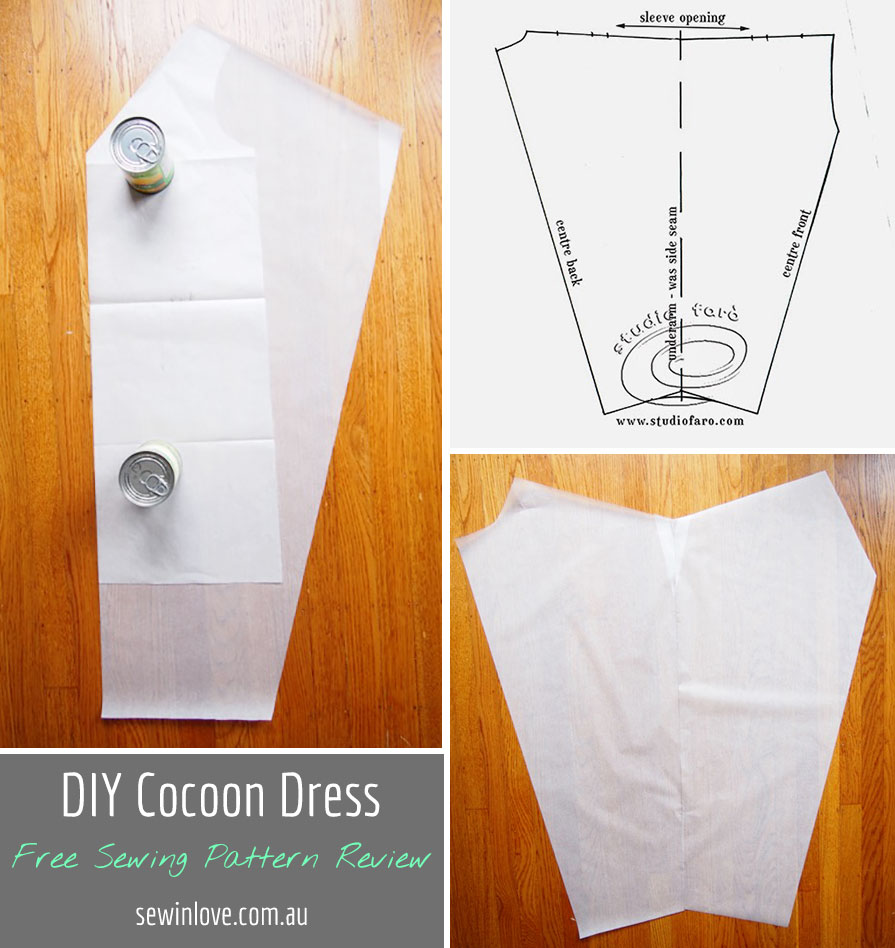 DIY Cocoon Dress - Free Sewing Pattern Review + Baby girl is here ...