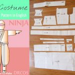 Free Japanese Sewing Pattern in English: Ninja Cosplay Costume