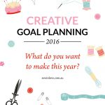 Goal Setting for 2016: What do you want to CREATE next year?