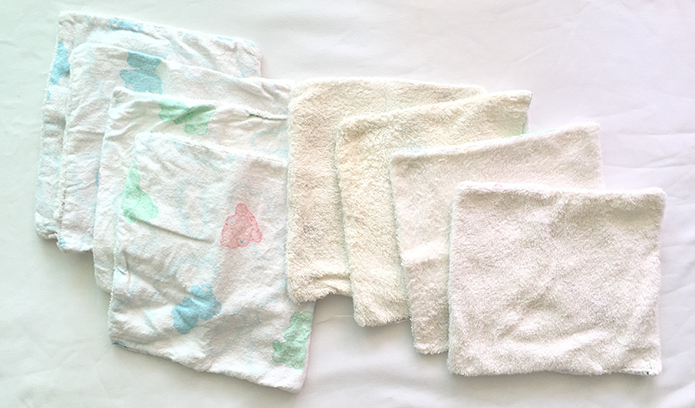 DIY Baby Wash Cloths