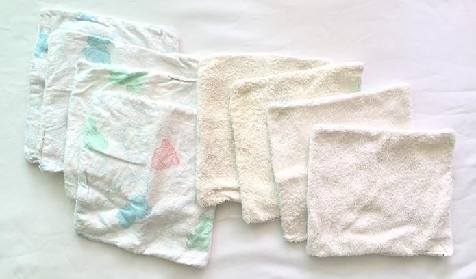 DIY Baby Wash Cloths