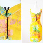 DIY Front Zipper Dress from Any Bodice Sewing Pattern