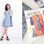 Part 4 (final) McCalls Patterns M6959 Sew-Along: Wrap Dress is Complete!