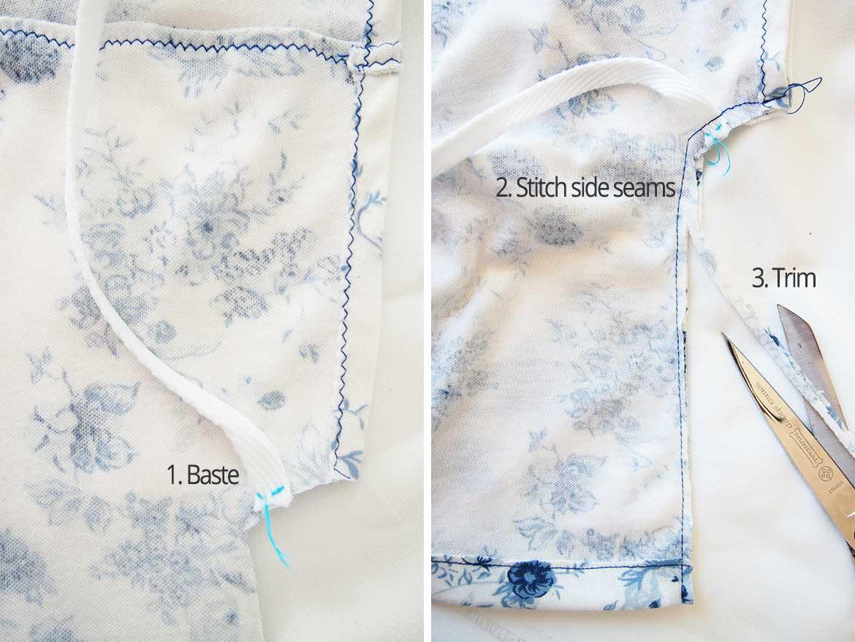 Free Sewing Pattern | Baby Kimono