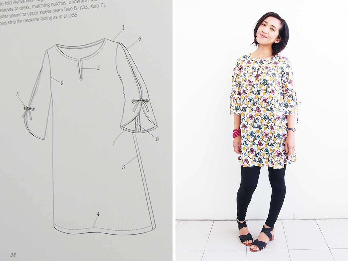 Tunic Dress: Is this the best Japanese sewing pattern ...