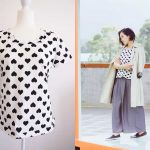 Japanese T shirt pattern to give your serger a workout!