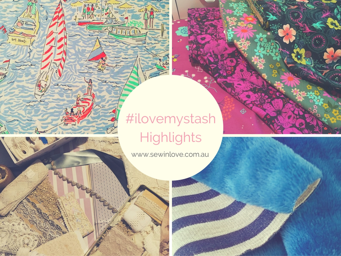 #ilovemystash is the ultimate photo-a-day challenge for fabric lovers. Here are the highlights from this year's Instagram challenge. So many gorgeous fabrics!